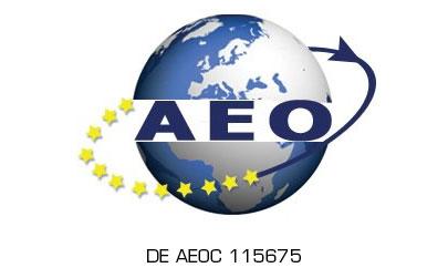 Zugelassener Wirtschaftsbeteiligter AEO DE AEOC 115675