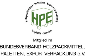 Mitglied im Bundesverband Holzpackmittel, Paletten, Exportverpackung e.V.
